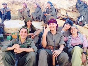 Donne a Kobanê
