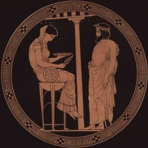 La sacerdotessa Pizia e l'oracolo di Delfi