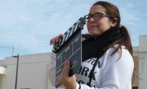 Riprese del video realizzato dai giovani (foto R.T.Di Rosa)
