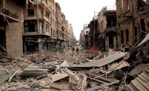 Aleppo-distrutta