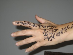 Decorazioni henné