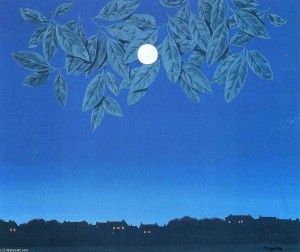 Magritte, La pagina bianca, 1967