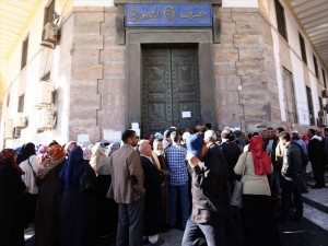 Tripoli, proteste contro le banche  per la mancanza di denaro