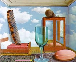 Magritte, I valori personali, 1952