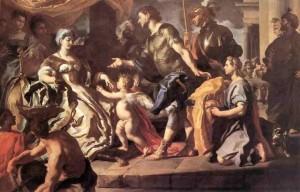Enea, Didone e Cupido, di F.Solimena, 1734