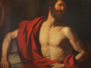 Il suicidio di  Catone, Guercino,1641)