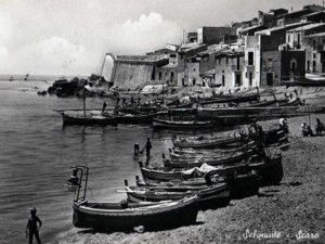 Selinunte Marinella, cartolina anni 60