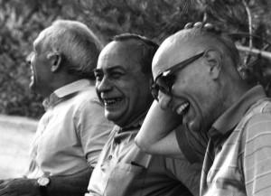 Consolo, Sciascia, Bufalino (ph. Leone)