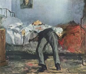 Edouard Manet, Le Suicidé, 1877