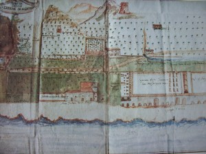 Pianta struttura tonnara di San Giorgio di Gioiosa Marea (foto Giardina)