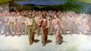 Quarto Stato, di Pellizza da Volpedo, 1901