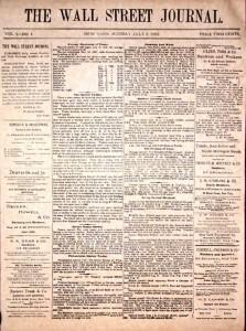 Una storica frontpage