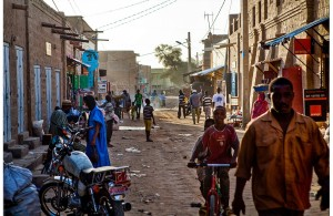 K. Orlinsky, strada di Timbuktu, Mali