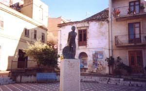 Monumento all'emigrante, Bolognetta (ph. Richichi)