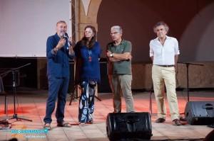 Franco Arminio, Lidia Tilotta, Ignazio E. Buttitta e Fabrizio Barca (ph Mirko Tamburello)