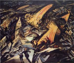 Ludwig Meidner, Paesaggi Apocalittici, 1912