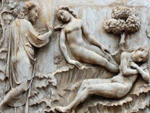 L. Maitani, La creazione di Eva, Cattedrale di  Orvieto