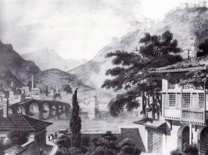 Berat, disegno di C.Cockerell, 1813