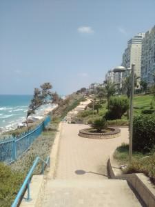 Netanya. il lungomare ( ph. Sinigaglia)