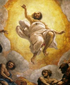 Cristo trionfante, Correggio, cupola del Duomo di Parma, 1520