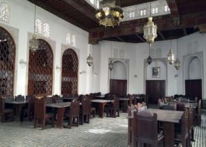 Interno della Biblioteca di Fes