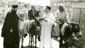 Padre Werenfried van Straaten, missionario cristiano  in Terra Santa