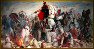 Skanderbeg in battaglia, 1564