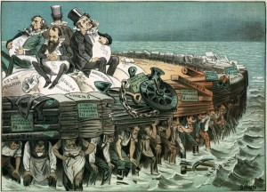 Vignetta anticapitalista del 1883