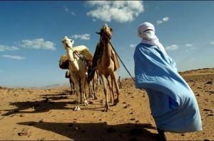 Tuareg nel deserto
