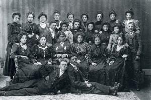 Donne emigrate da Udine, primi del 900