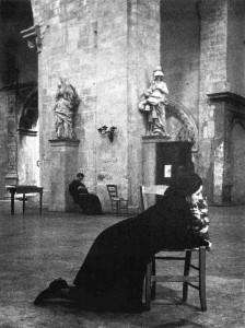 Enzo Sellerio, chiesa di San Francesco, Palermo 1960