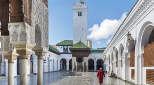 La biblioteca di Al Qarawiyyin a Fes