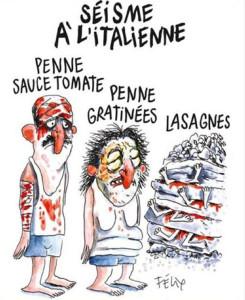La vignetta di Felix sul terremoto ad Amatrice