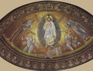 Mosaico absidale monastero chiesa s. Caterina, Sinai
