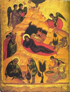 Natività di  Andreji Rublev, 1405