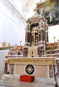 Interno della chiesa della Annunziata