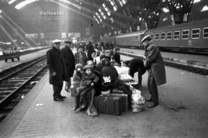 Anni 60, stazione di Milano