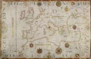 Carta nautica di Diego Homem,1570