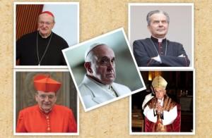 I cardinali autori della Lettera al papa
