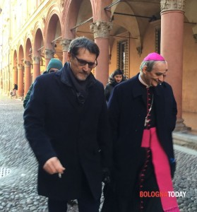 Il Sindaco Merola e il  cardinale Zuppi
