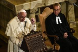 Il Papa a Lund incontra i Protestanti