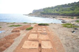 Impianto di lavorazione del pescato e di produzione del garum, Cala Minnola