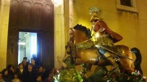 Piana degli Albanesi, la processione di San Giorgio
