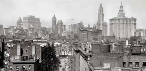 Downtown, Manhattan, 1901