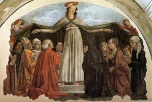 Madonna della Misericordia, Domenico Ghirlandaio, 1472
