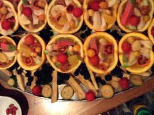 Coppetta di frutta mista tropicale siciliana