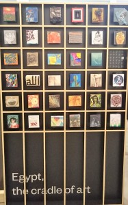 . Egitto (particolare della raccolta), Spazio ZAC, Cantieri Culturali alla Zisa, Palermo, da Imago Mundi – Collezione Luciano Benetton (Foto Di Maggio)