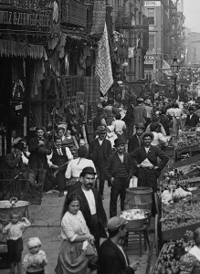 Lower East Side, migranti,  inizio XX secolo