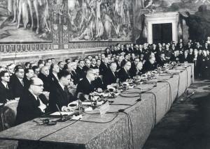 -firma-del-trattato-di-roma-25-marzo-1957