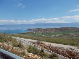 Lungo la via per Orhid in Macedonia